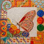 Life Force mosaic by Jo Letchford